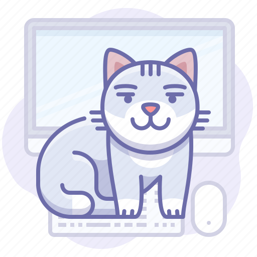 Animal, cat, computer icon - Download on Iconfinder