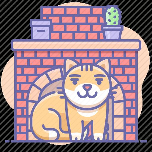 animal, cat, comfort icon