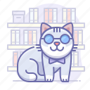 animal, cat, science icon