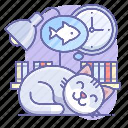 animal, cat, sleep