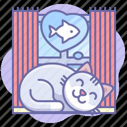 animal, cat