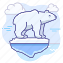 animal, arctic, bear icon