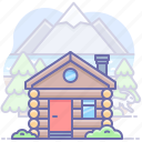 building, house, hut icon