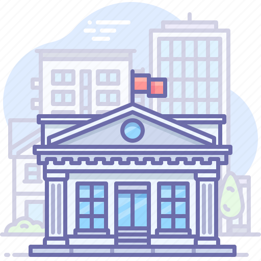 Bank, city, finance icon - Download on Iconfinder