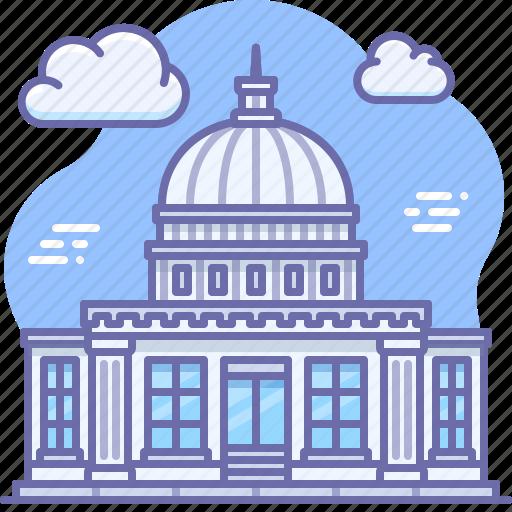 building, government, politics icon