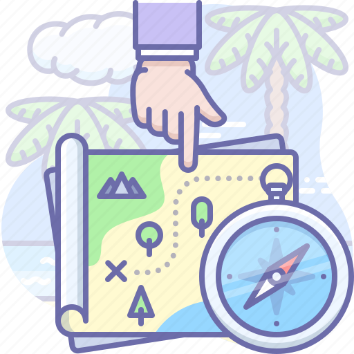 Adventure, map, treasure icon - Download on Iconfinder