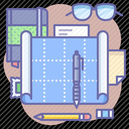 Architecture, blueprint, plan icon - Download on Iconfinder