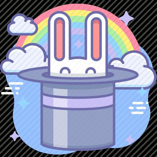 Magic, rabbit, wizard icon - Download on Iconfinder