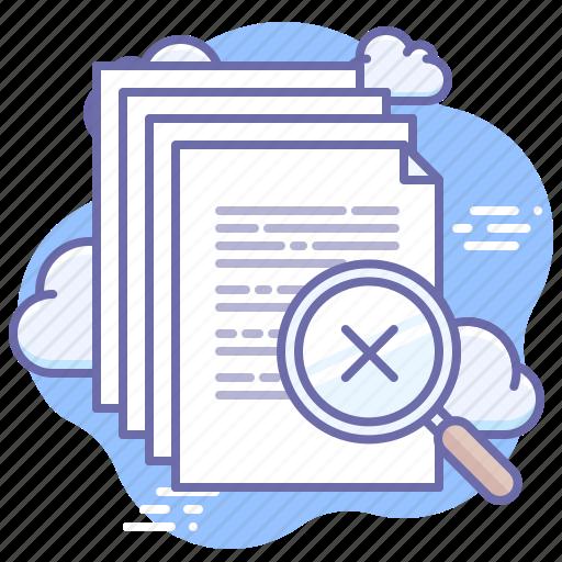 documents, find, none, search icon