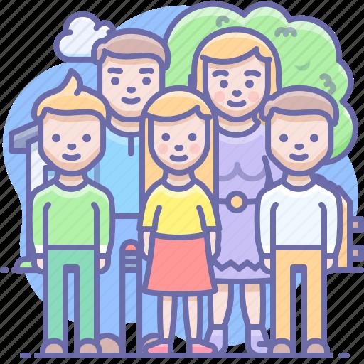 children, family icon