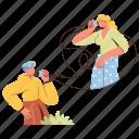 character, builder, communication, phone, call, telephone, network, talk, conversation