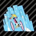 bike, bicycle, travel, transport, transportation