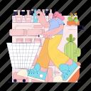 shopping, shop, ecommerce, commerce, woman