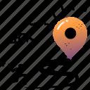location, destination, navigation, travel, transportation, marker, pin
