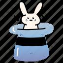 product, development, result, magic, hat, rabbit, bunny