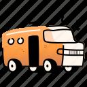 transportation, bus, travel, transport, vehicle, automobile, public