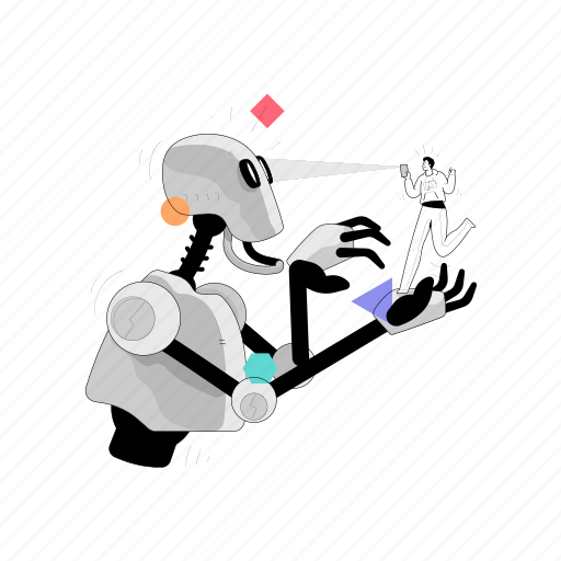 Technology, support, robot, artificial, intelligence, robotic, automatic illustration - Download on Iconfinder