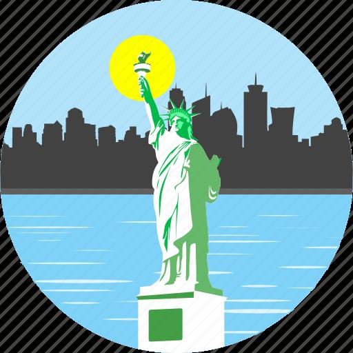 america, american, liberty, monument, newyork, statue, statue of liberty icon