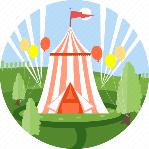 birthday, carnival, celebration, christmas, circus, festival, party icon