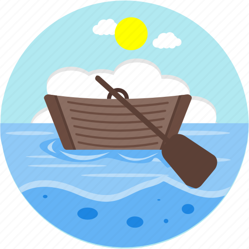 adventure, boat, boating, outdoors, sea, ship, water icon