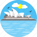 australia, australian, historic, monument, monuments, opera house, operahouse icon