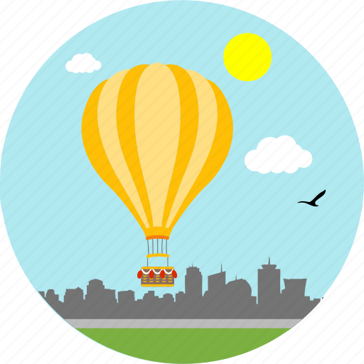 adventure, adventurous, balloon, balloons, hot air balloon, ride, riding icon