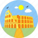 monument, rome, history, architecture, city, landmark, state