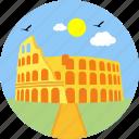 architecture, city, history, landmark, monument, rome, state icon