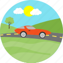road, car, transportation, automobile, driving, transport, vehicle