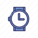 appointment, schedule, time, watch icon