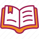book, education, library, reading, school, student, study icon