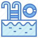 holidays, pool, sport, swimming, water icon