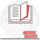 book, center, central, knowledge, library, school, store icon
