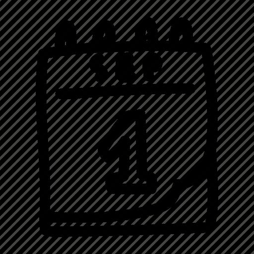 Calendar Illustration Png : Calendar doodle flip flop icon