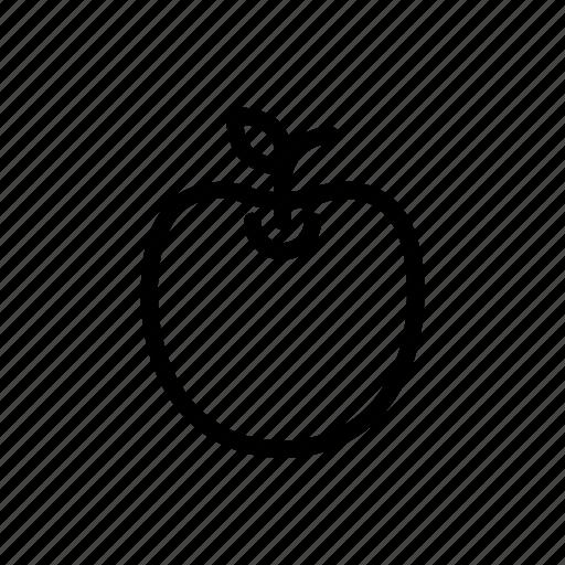 apple, education, food, school icon