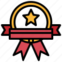award, certification, medal, quality, winner icon