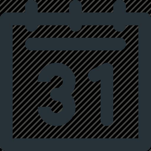 agenda, calendar, journal, organizing, schedule icon