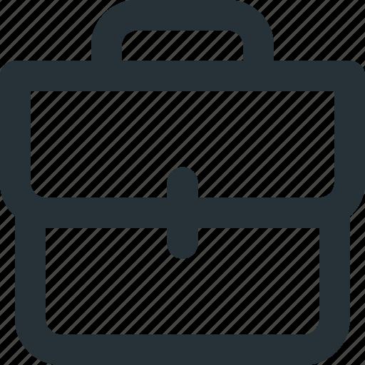 bag, briefcase, official, professor, suitcase, teacher icon