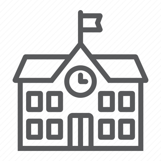 Architecture, building, college, education, school, university icon - Download on Iconfinder