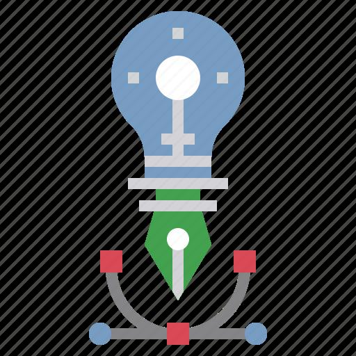 design, graphic, interface, pen icon