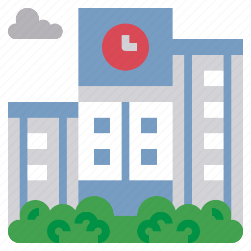 buildings, education, monuments, school, university icon