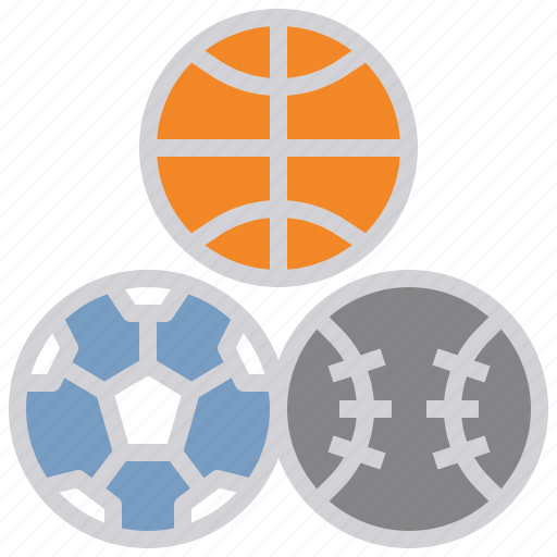 equipment, football, sports, team, volleyball icon