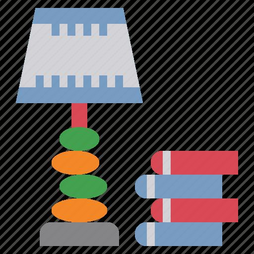 furniture, illumination, lamp, light, technology icon