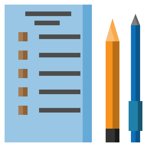 archive, document, education, exam, file, test icon