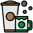 cafe, coffee, cup, drink, hot, mug, shop icon