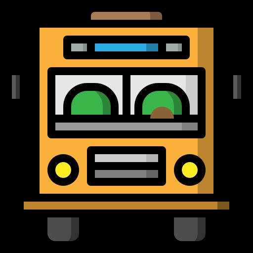 automobile, public, schoolbus, transport, transportation, vehicle icon