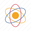 atom, chemistry, education, school, science, university icon
