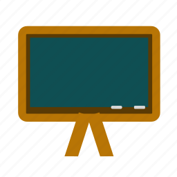 chalkboard, education, school icon