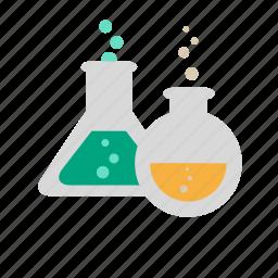 chemistry, jars, school, science, science equipment, university icon