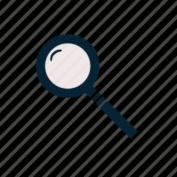 detective, education, investigation, magnifier, school, science, spy icon